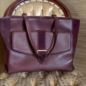 Leather and suede Kate Spade bag.